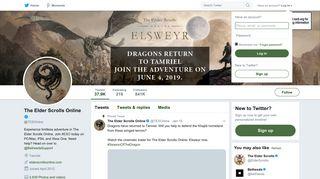 The Elder Scrolls Online (@TESOnline)   Twitter