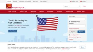 CIBC: Personal Banking   Financial Services