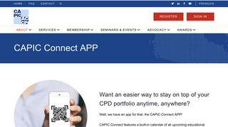 CAPIC Connect APP