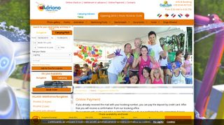 Online payment - Adriano Camping Village