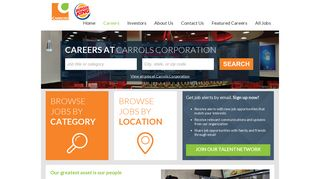 Jobs and Careers at the Carrols Corporation Talent Network