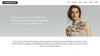Modasphere | Modasphere - model, photo and talent management ...