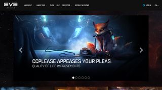 EVE Online Store (Game Time, PLEX, DLC) & Account Management