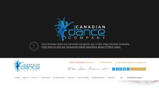 Canadian Dance Company: Dance Lessons in Oakville