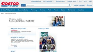 Costco Employee Website | Costco