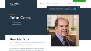 John Cerra | Nuveen