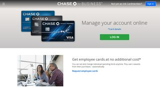 Access Your Business Credit Cards | Chase.com
