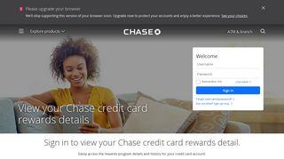 Chase Online Rewards - Chase.com