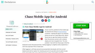 New Chase Mobile App for Android - The Balance