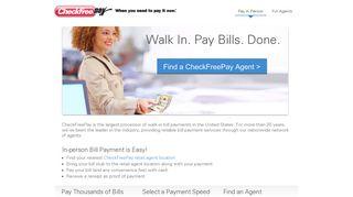 Online Bill Pay by CheckFreePay