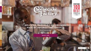 The Cheesecake Factory: Jobs and Careers