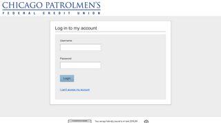 Chicago Patrolmens Federal Credit Union | Login