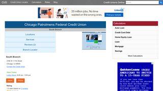 Chicago Patrolmens Federal Credit Union - Chicago, IL at 2766 W ...