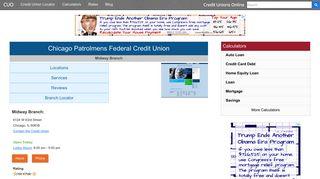 Chicago Patrolmens Federal Credit Union - Chicago, IL at 6124 W ...