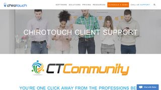 ChiroTouch Client Support and Contact