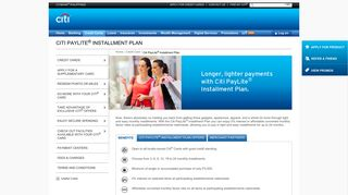 Credit Cards | Citi PayLite® Installment Plan - Citibank Philippines