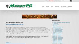 MPC Webmail Help | Milwaukee PC
