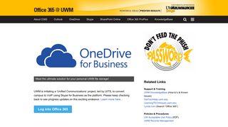 Office 365 at UWM