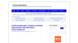 Claritta Registration | Register and Make Mega Money with 1000 ...