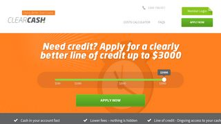 ClearCash - Fast Online Smart Loans Up To $3000 - Simply Better ...