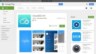 CloudSEE Int'l - Apps on Google Play