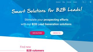 Companeo Groupe: Smart Solutions for B2B Leads!