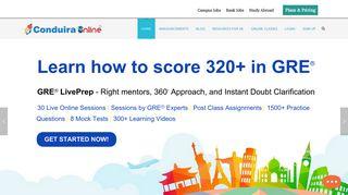 Conduira Online-CRT-Bank Exam-MBA Entrance Exam-GRE Online ...