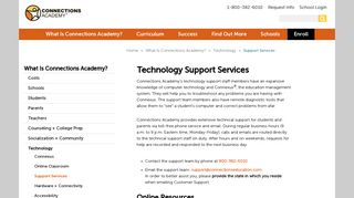 Connexus Technical Support | Connections Academy