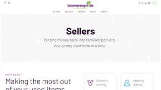 Sellers - Boomerang Kids