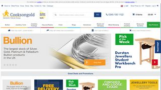Cooksongold - Jewellery Making Supplies | UK Supplier
