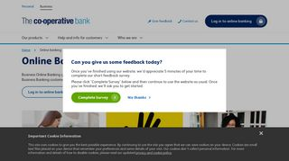 Online Banking | Ethical banking | The Co-operative Bank