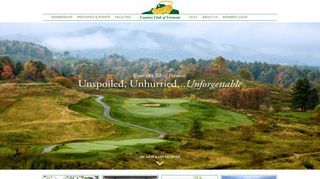 Member Login - Country Club of Vermont