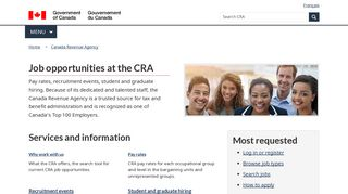 Careers at the CRA - Canada Revenue Agency