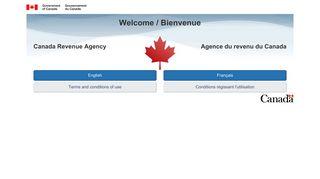 Canada Revenue Agency Web site / Site Web de l'Agence du revenu ...