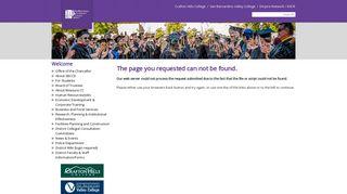 Crafton Hills College: Quick Links