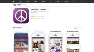 CPlus for Craigslist on the App Store - iTunes - Apple