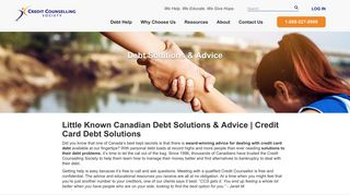Little Known Canadian Debt Solutions & Advice   Credit Card Debt ...