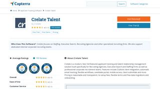 Crelate Talent Reviews and Pricing - 2019 - Capterra