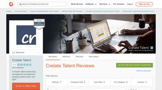 Crelate Talent Reviews 2019 | G2 Crowd