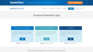 Employee & Member Login - Benefits Enrollment, CDH Accounts ...