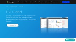 CVO Portal - Single Web Interface to All Features | Leantegra