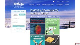 Dakota Community Bank & Trust: Personal & Business Banking, Trust ...