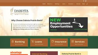 Dakota Prairie Bank   Your Land. Your Community. Your Bank.
