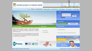 Quick Online Pay - Welcome to DGVCL Consumer Web Portal