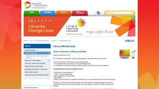 Library Membership - City of Greater Dandenong