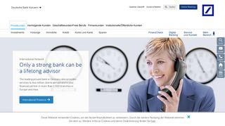Deutsche Bank International – Deutsche Bank Privatkunden