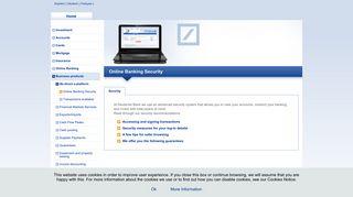 Deutsche Bank - Online Banking Security