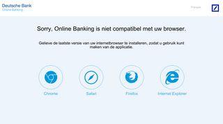 Online Banking - Deutsche Bank