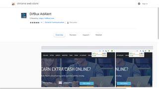 DifBux AdAlert - Google Chrome