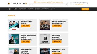Workshop   DigitalMarketer.id